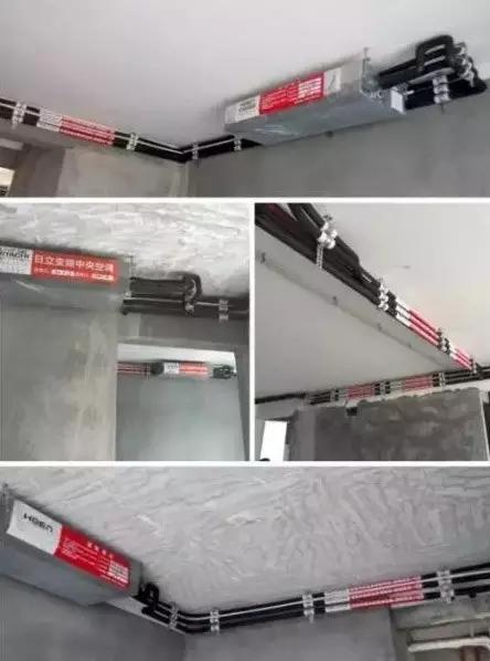 室内机;      电源线,控制线要单独穿线管保护;        所有电气接线